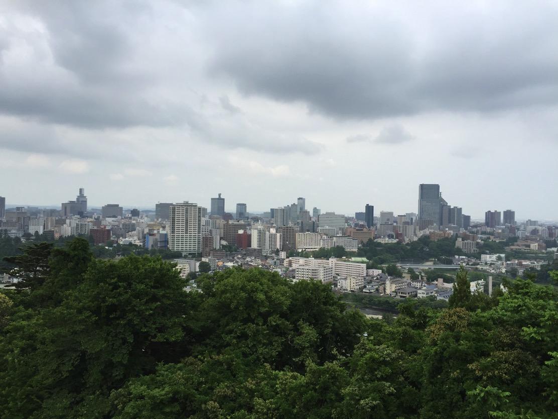 仙台市内一望